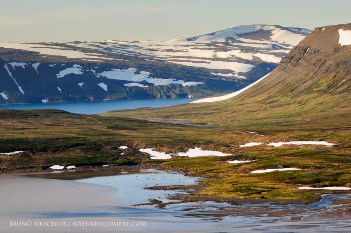 péninsule du nord ouest Islande